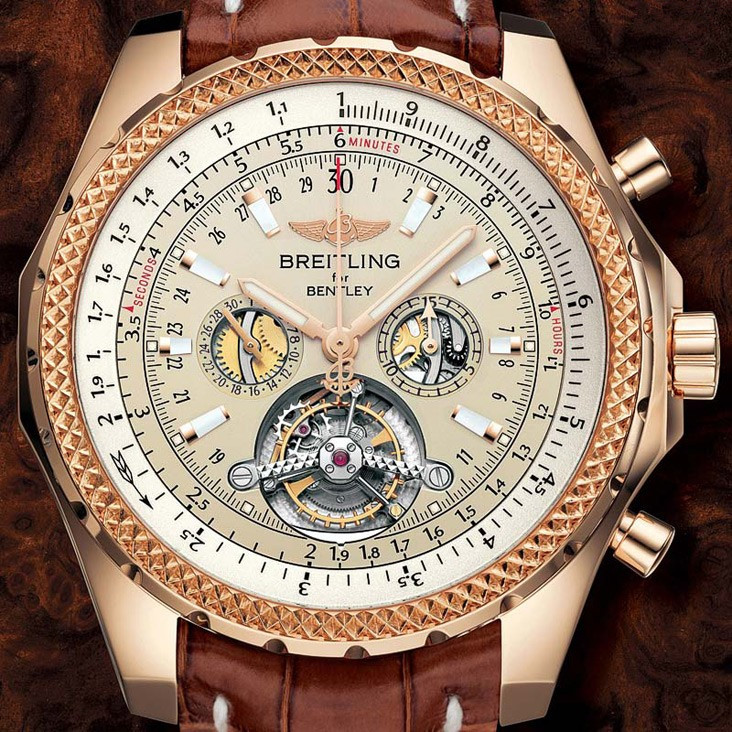 4. Breitling for Bentley Mulliner Tourbillon