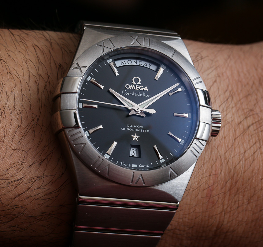 78077f954147 Omega Constellation Co-Axial 38mm Watch Review - Swiss Classic Watches