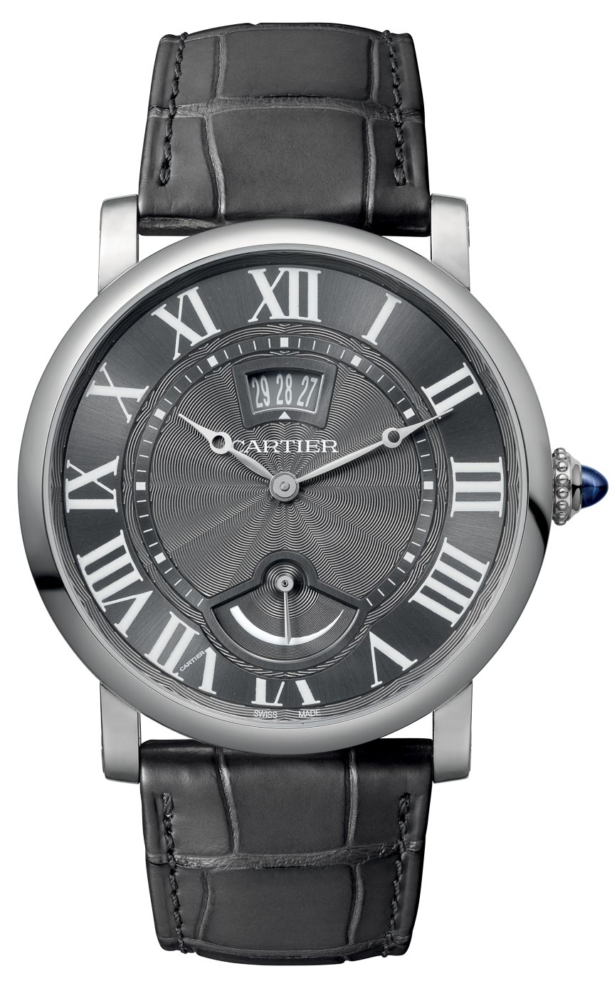 Introducing Cartier Rotonde Small Complication Steel ...