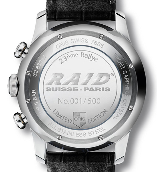 going over the oris raid 2013 limited edition watch