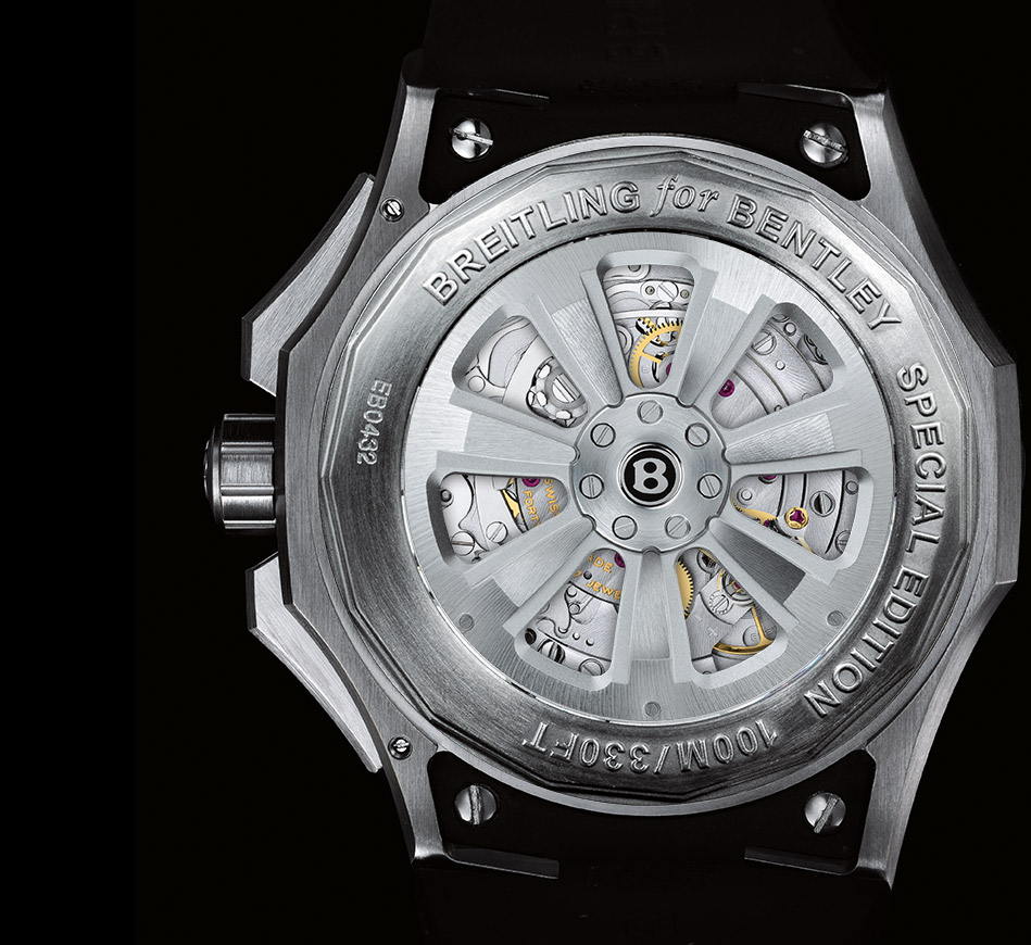 Light Body- Breitling Bentley GMT B04