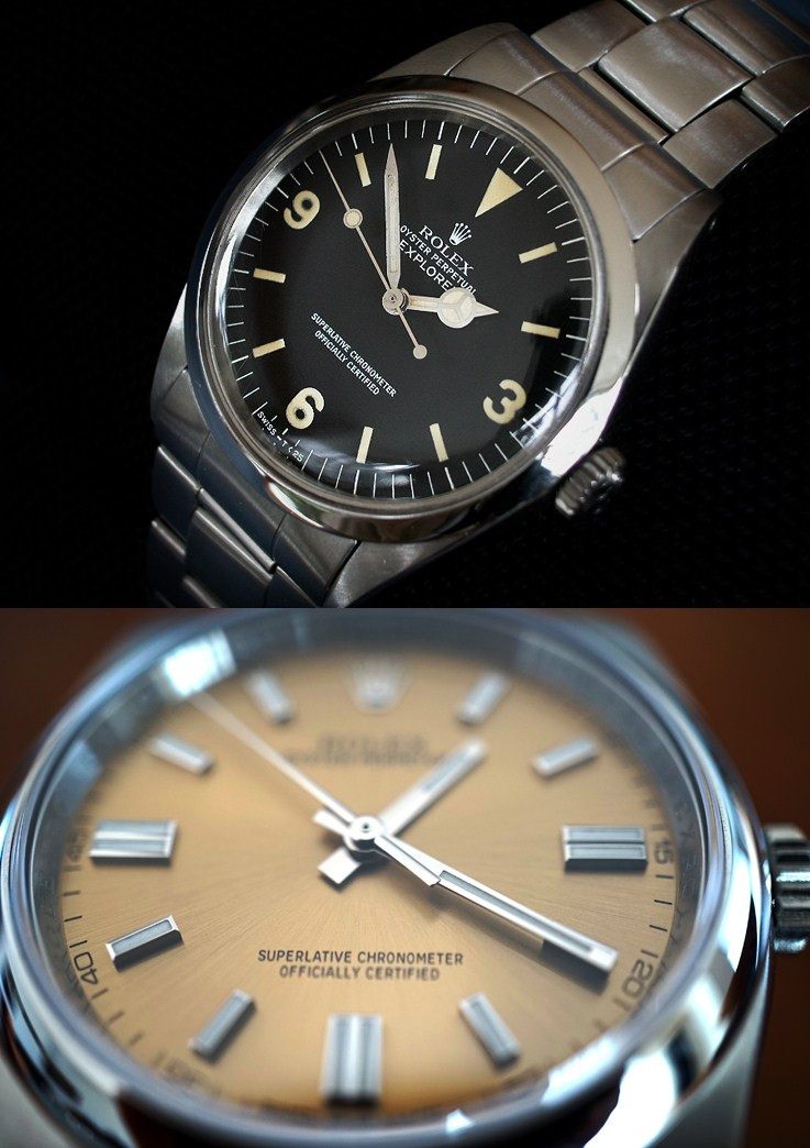 New Dial Colors Rolex Three Date Oyster Perpetual Swiss