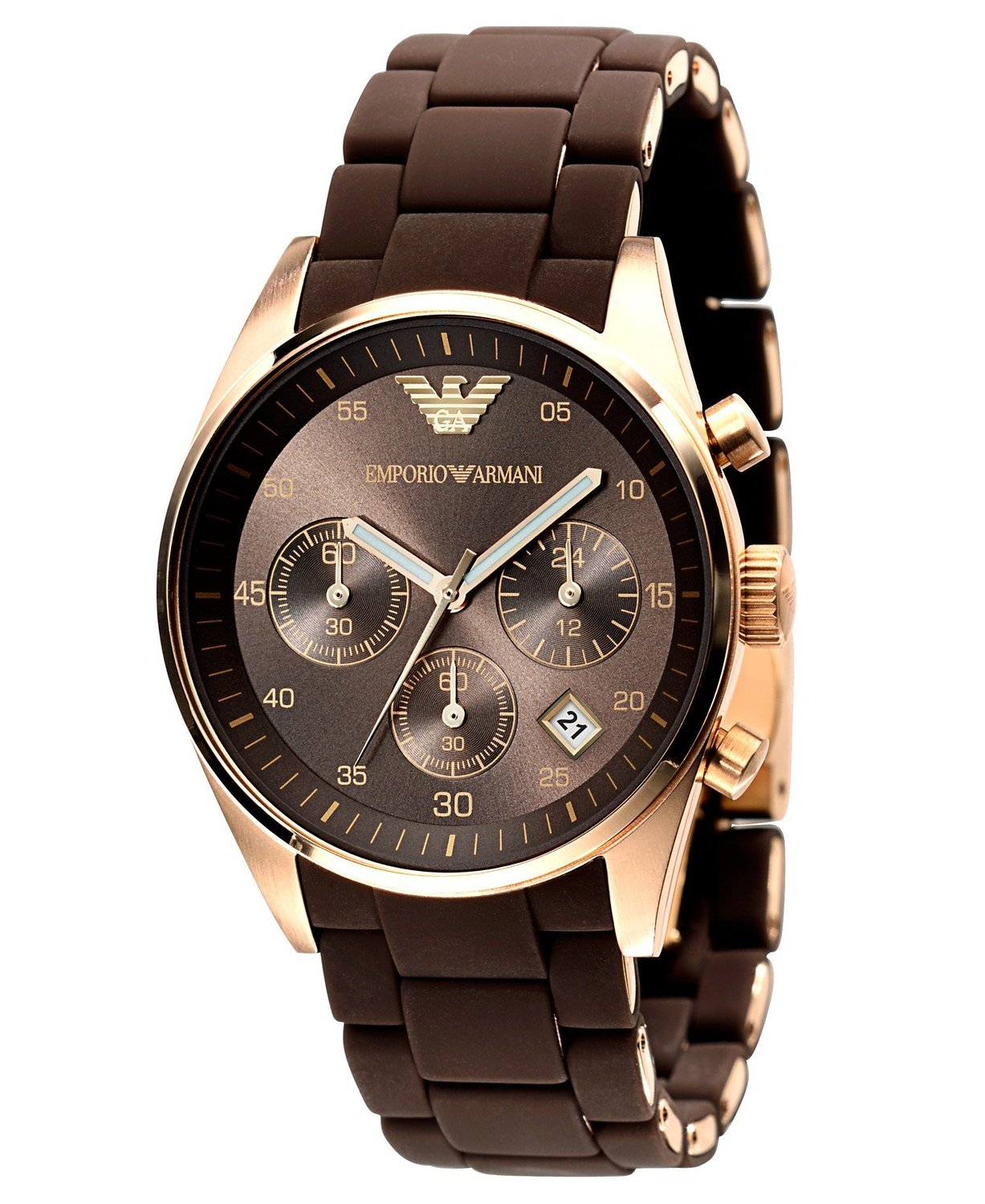 Emporio Armani Classic Chronograph Mens Watch AR2434 ...