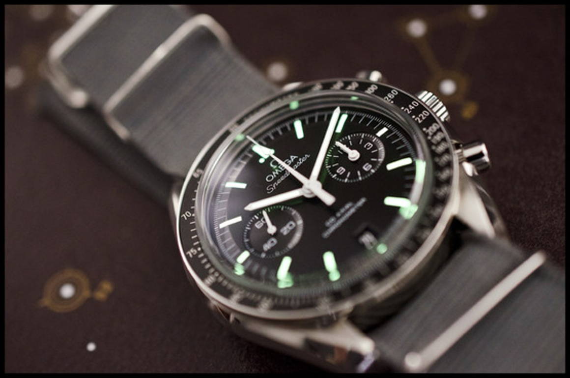 Per Week around the Wrist the Omega Speedmaster Co-Axial ...