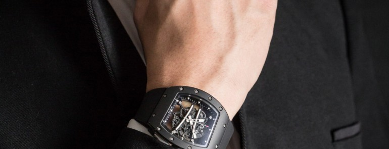 SIHH 2015 Richard Mille RM61-01 'Baby Blake' Black Special Edition