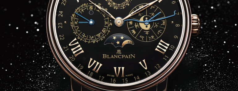 Blancpain Traditional Chinese Calendar for just Watch