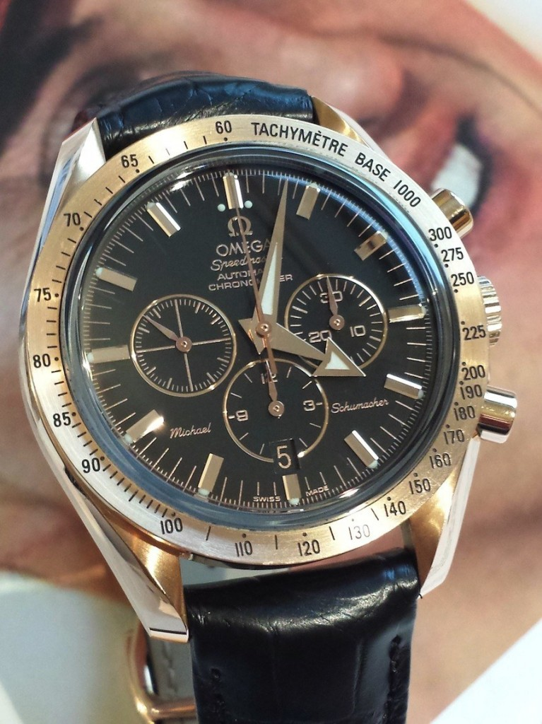 Michael Schumacher Omega Speedmaster Vintage Watches