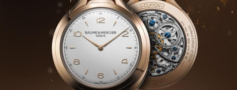 "Baume & Mercier at Watches&Wonders 2015 set up a ""historical wall"" at the major watch exhibition"