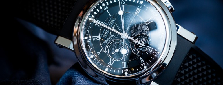 "Hands On The Breguet Marine's very classy timepiece""200 Ans De Marine"" 5823"