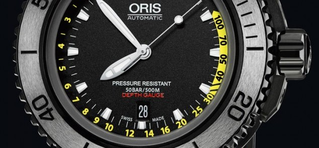 Oris Aquis Depth Gauge - 30 minutes on the wrist