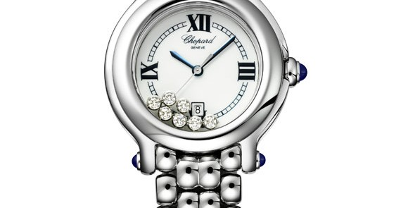 Chopard Lady's Watch:The precious, colourful and playful Happy Sport collection