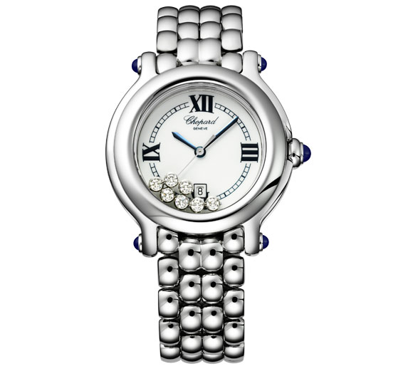 chopard lady 39 s watch the precious colourful and playful happy sport collection swiss classic