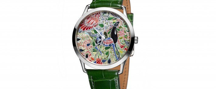 Swiss Luxury Watch Brand Hermès Slim d'Hermès Mille Fleurs du Mexique