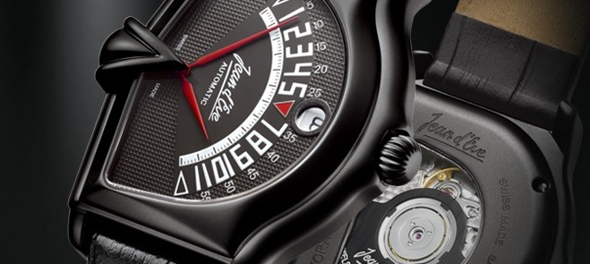 Jean d'Eve Sectora II Automatic Black DLC Is Execllent In Every Detail