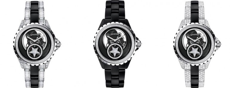 Chanel Limited Edition--J12 Skeleton Flying Tourbillon