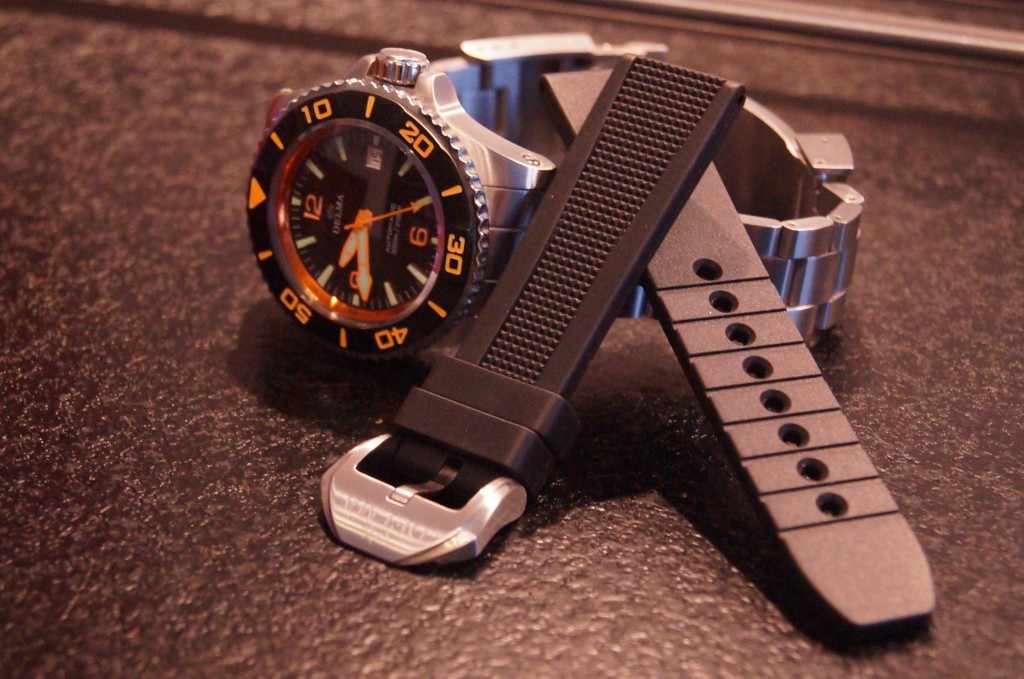 Delma Santiago Blue Shark Limited Edition diver's watch Is The Overall Dominating Feature
