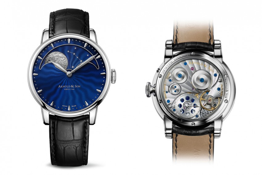 Arnold & Son HM Perpetual Moon is a a superb example of Arnold & Son's technical and artistic excellence