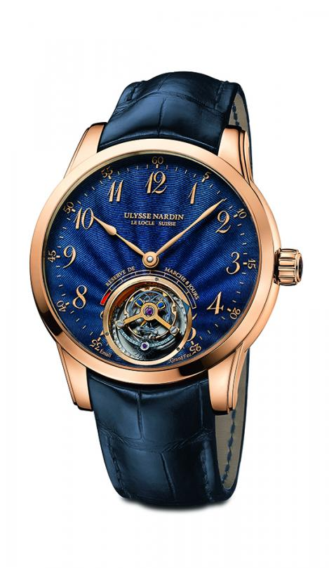 Full Of Depth Watch From Ulysse Anchor Tourbillon