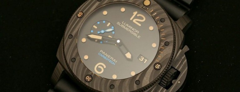 Panerai Luminor Submersible 1950 Carbotech 3 Days Automatic Watch Review