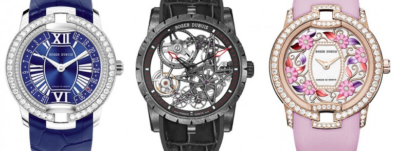 SIHH 2016: Roger Dubuis shows carbon Excalibur skeleton, addnew ladies Blossom Velvet pieces