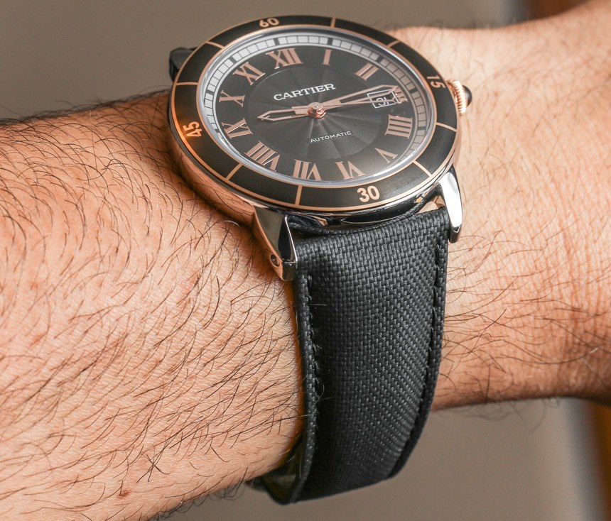 Cartier Ronde Croisiere Casual Watch Reviewing