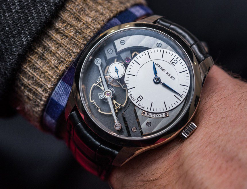 Reviewing about the Greubel Forsey Signature 1