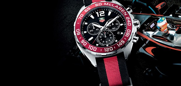 Tag Heuer Formula 1 Mclaren Special Edition Stands For Speed, Time And Challenge