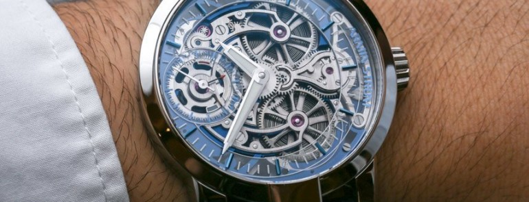 Reviewing Armin Strom Skeleton Pure Watch