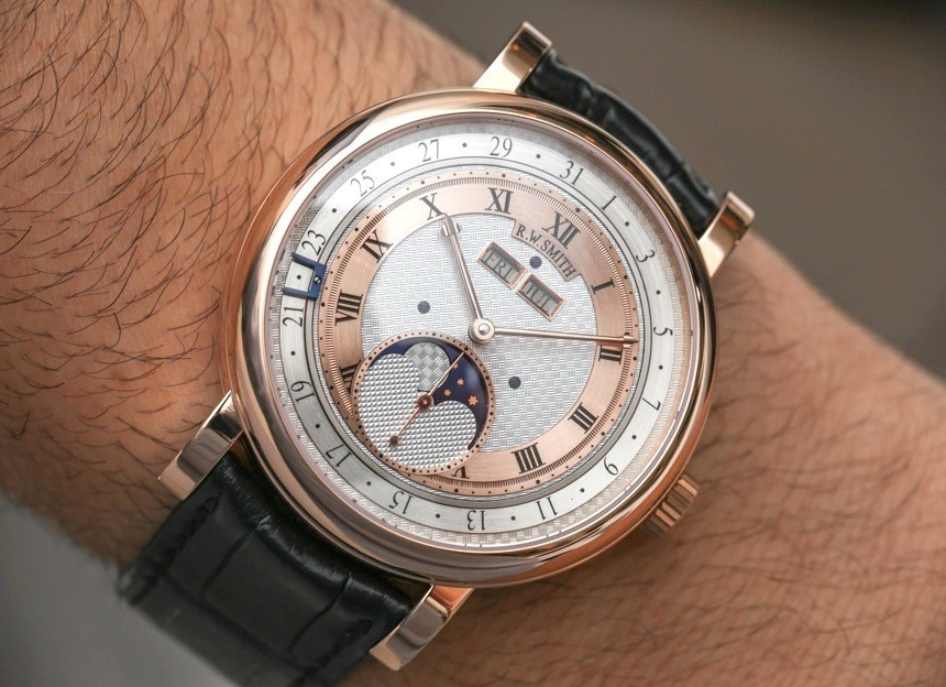 Previewing Roger Smith Series 4 Triple Calendar Moonphase