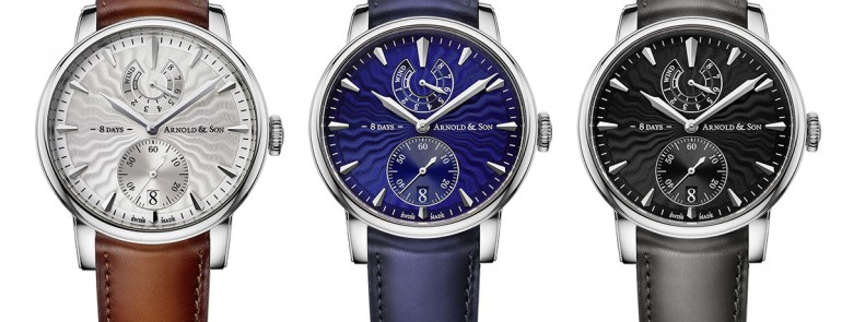 Introducing the Arnold and Son Eight-Day Royal Navy For Baselworld 2016