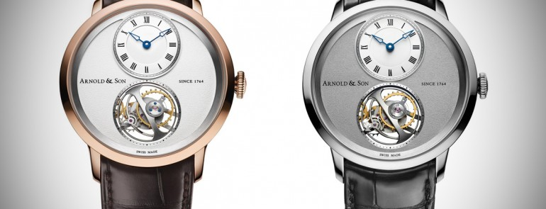 Hands-on The Arnold and Son UTTE Ultra Thin Tourbillon Escapement