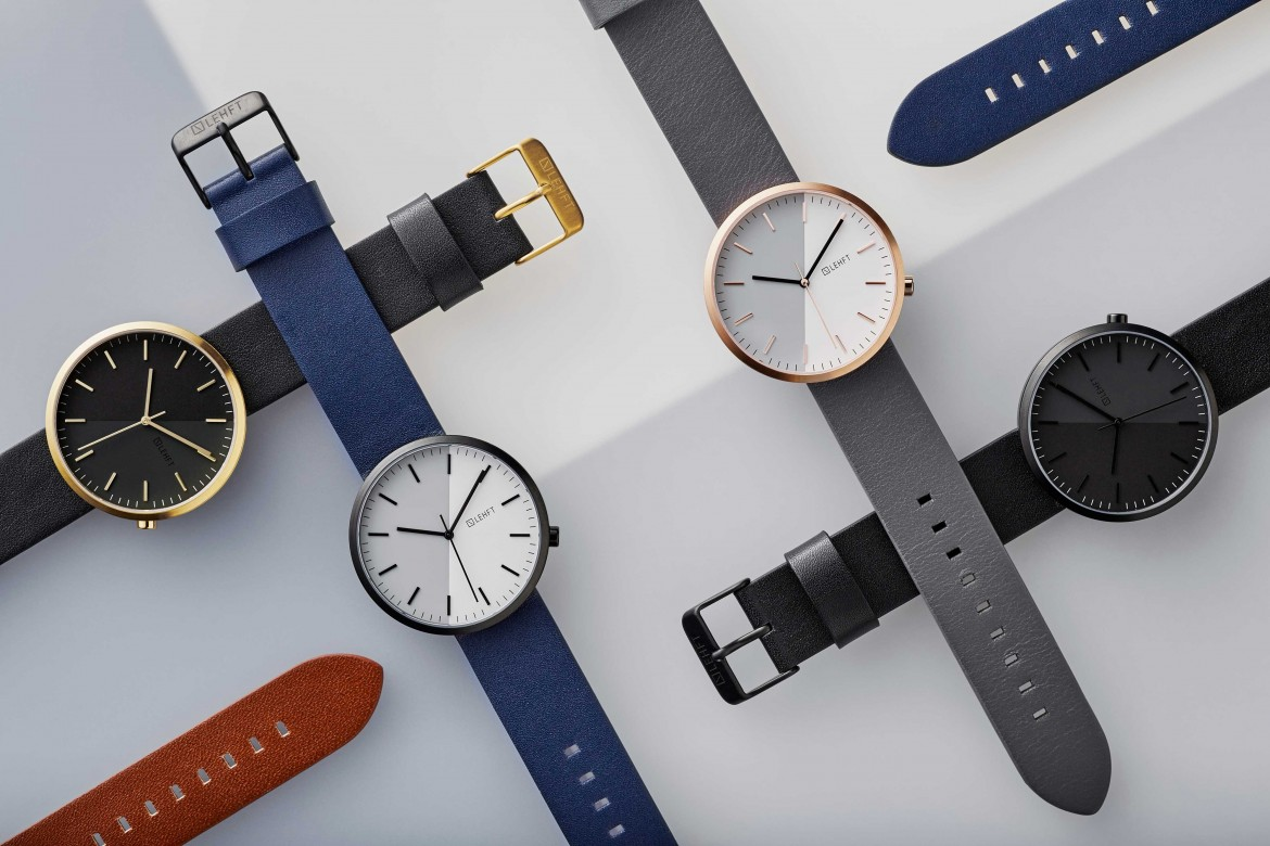 Close-Up Lehft Minimal Watches Create True Minimalism