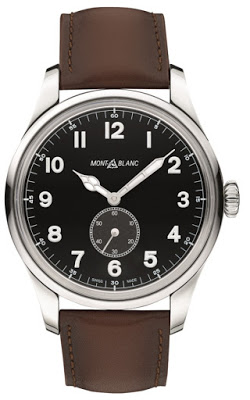 Hands On Montblanc 1858 Automatic Small Second Collection With 44-mm Stainless S