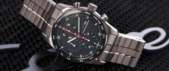 Hands-On Porsche Design Chronotimer Series 1 All Titanium