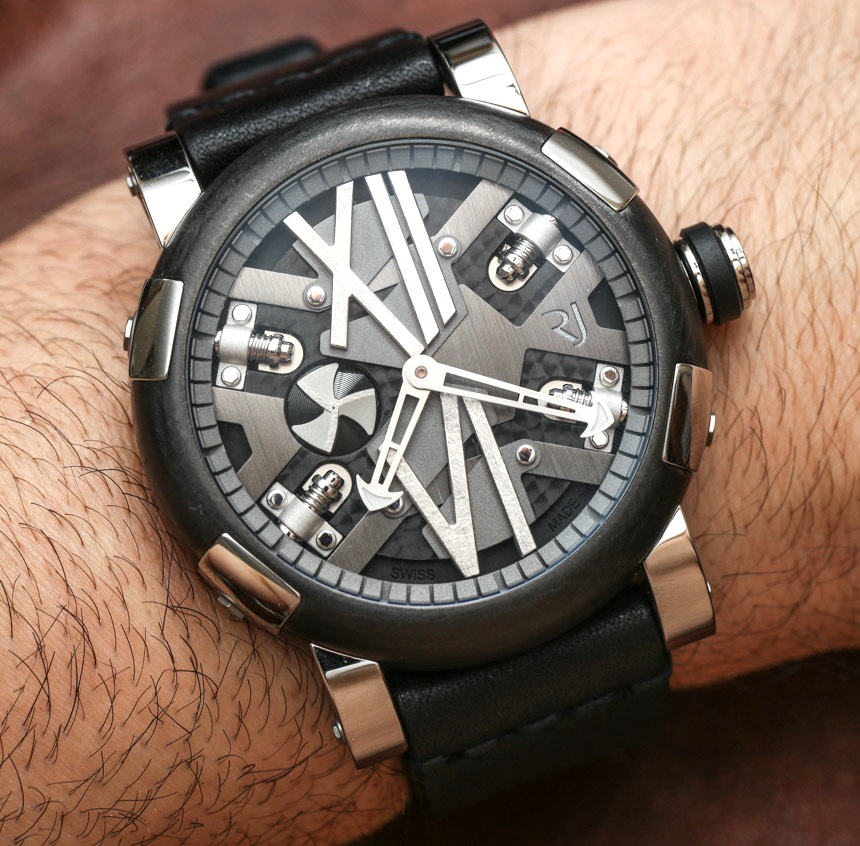 Reviewing Romain Jerome Steampunk Auto 46 Watch