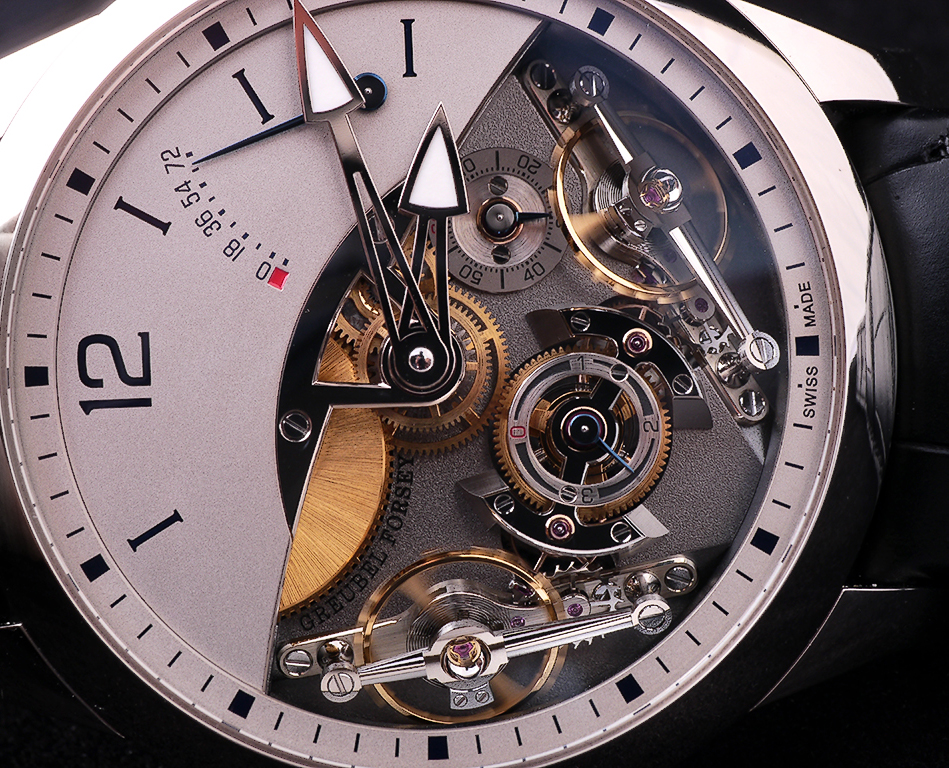 Misterious Greubel Forsey Double Balancier With Power of 72 hours