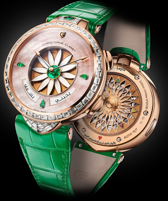 Christophe Claret Layla Timepiece Tell A Hopeless Romantic Story
