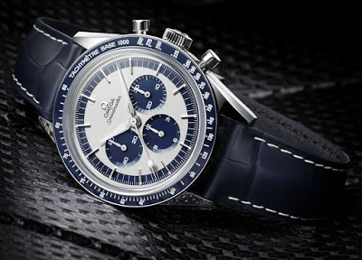 "Omega Speedmaster ""CK2998"" Limited Edition With White Super-LumiNova Tachymeter Scale"
