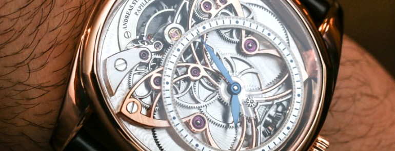 Hands-on With The Complicated Andreas Strehler Papillon d'Or Watch