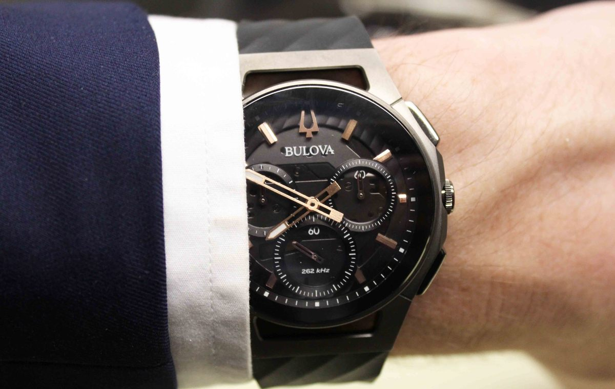 Hands-on Wtih The Sporty And Casual Bulova CURV Watches