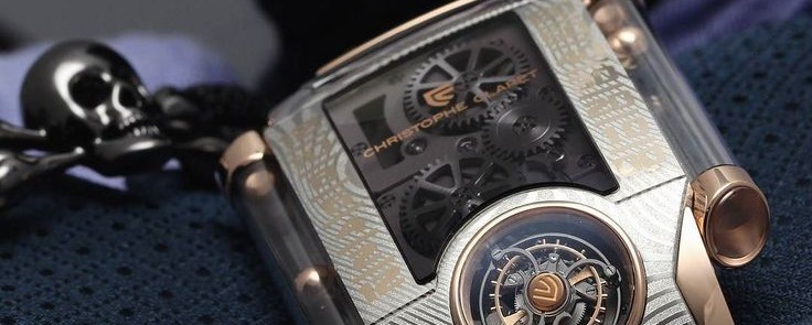 Meet The Distinguished, Unique Christophe Claret X-Trem 1 in Damascus steel