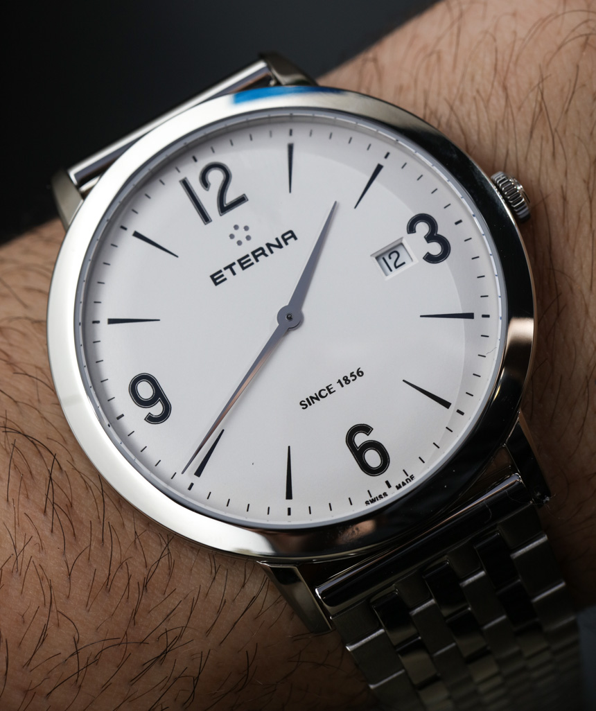 Eterna Gent Automatic & Quartz Dress Watch Hands-on