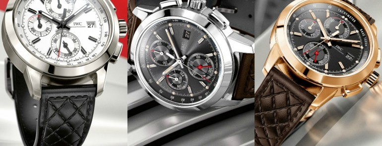"Top Three IWC Schaffhausen Of Ingenieur Chronograph Edition ""74th Members' Meeting at Goodwood"""