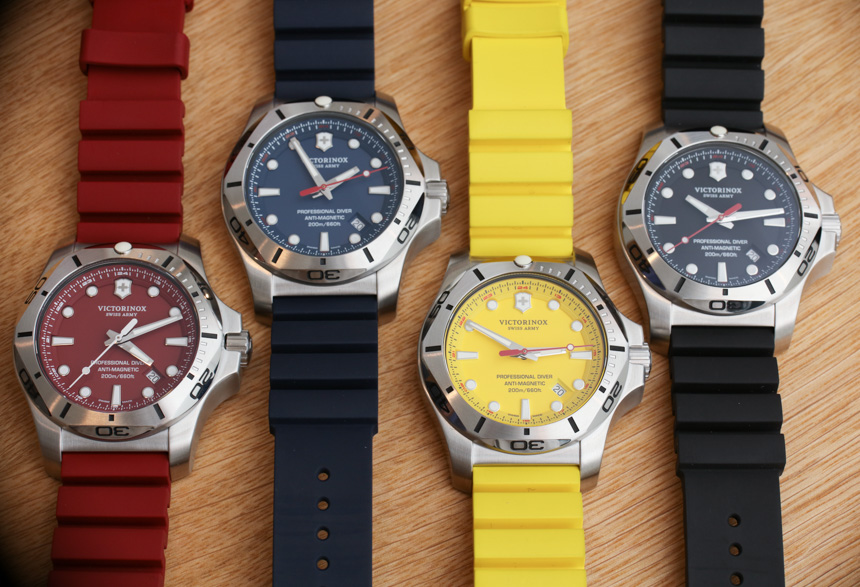Hands-On With The Colorful And Modern Victorinox Swiss Army INOX Professional Diver Watch