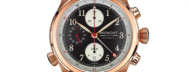 Take A Look At The Handsome Bremont DH-88 With 43mm Pilot's Watch