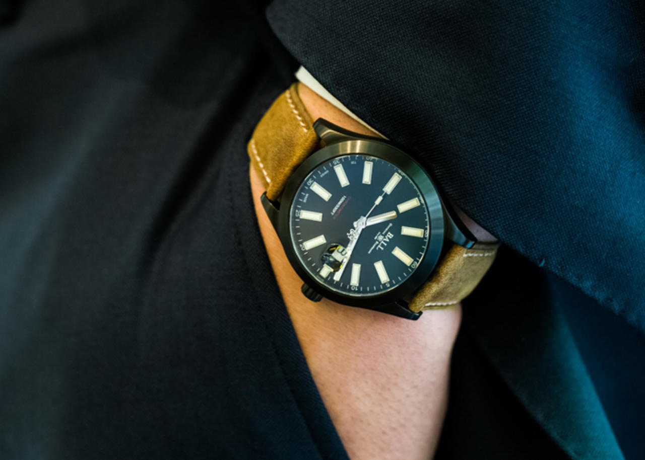 A Detailed Look At The Classic Mix Modern Ball Watch Engineer II Green Berets