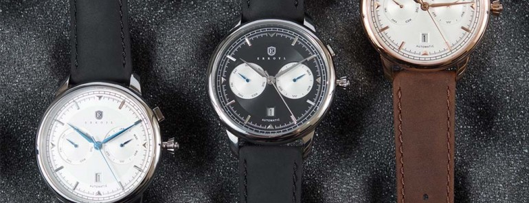 A Detailed Look At The Unique Erroyl Regent Nero Automatic Watch