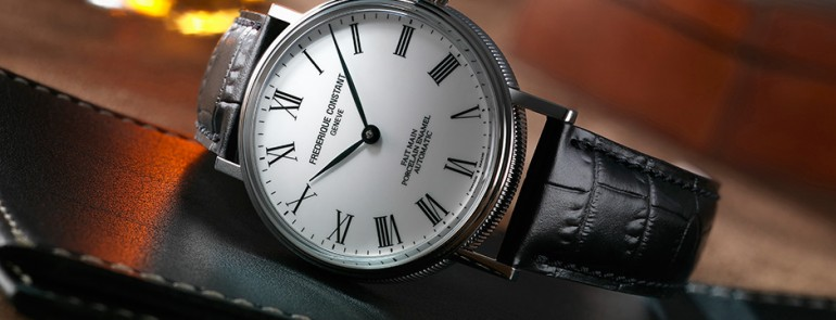 Show You The The Classic Frederique Constant 40mm Mens Watch