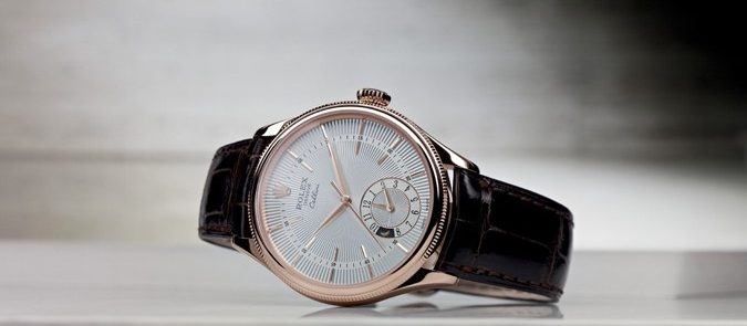 Take A Look At The Rolex Cellini Dual Time Mens Watch