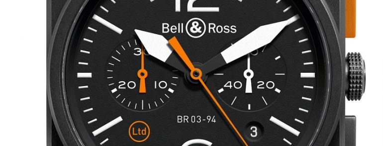 Take A Look At The Bell & Ross BR 03-94 Carbon Orange Mens Watch